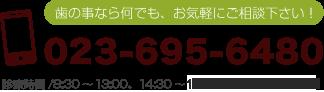 電話番号 023-695-6480